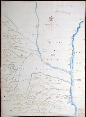 mapa de nuevo Santander- Ladron de Guevara map